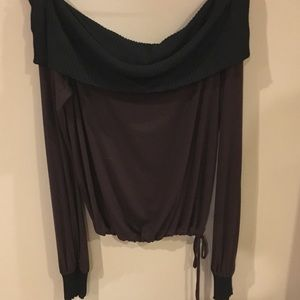 Cold Shoulder Top by Shine New York